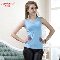 2014 female summer spaghetti strap vest sexy slim all-match 100% modal cotton comfortable blouse