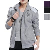 Hot ! 2014 Brand men coat jacket sports tracksuit spring autumn sportswear leisure jogging sport suit hoodies Sweatshirts sets