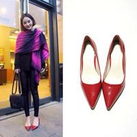 2014 fashion thick heel single shoes pointed toe wedding shoes princess high-heeled shoes women's shoes 6210 201