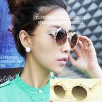 Vintage round box sunglasses fashion sunglasses women's qs046 12  10pcs