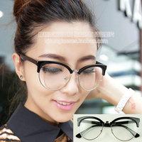 Plain mirror preppy style mixed black-rimmed glasses 3017 12  10pcs