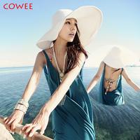 COWEE 2014 Women Fashion Halter Summer Beach Dress Bikini Cover Up Top Swimwear Vest