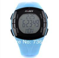 Electronic multi-function running walk fat tester LED solar energy Pedometer Digital Sports Monitor Exercise Memory Stopwatch