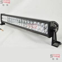 1 pcs 21 5 inch 120w led light bar truck 6500K Black housing cree led light