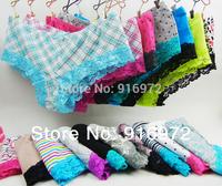 Hot sale Women Sexy  cotton lace  panties  women's panties  mix colors  14.5/5pcs Free shipping