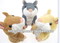 Original Russian Talking Hamster Pet Speaking Hamster Repeat Mouse Electronic&Interactive Plush Stuffed Toys Best Kids Gift