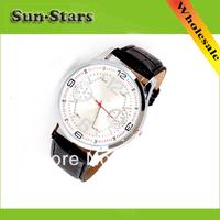 New 2014 Fashion quartz watches men strap watch top brand luxury wristwatch,Wholesale Free Shipping Dropshipping