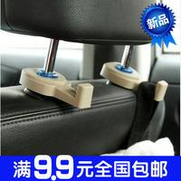 1555 car seat car multi purpose chair back hook 2