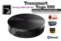 Tronsmart Vega S89 Amlogic S802 Quad Core 2GHz Android TV Box 2.4G/5GHz Dual Band WiFi 2G/16G Mali 450 GPU 4K*2K HDMI Bluetooth