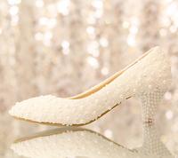 Free shipping White flower bud silk wedding shoes diamond bride shoes The princess waterproof platform women's high heels shoes