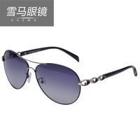 2014 xuema polarized sunglasses female sunglasses metal frame anti-uv glasses driving mirror
