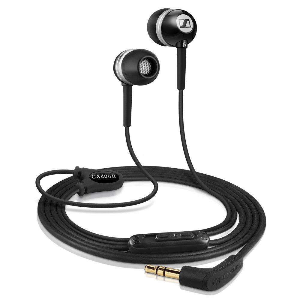 Brand Sennheiser CX 400-II Earphones for MP3 player, MP5, MP4, Mobile Phones in-ear Earphone headphone ,Brand NEW(China (Mainland))