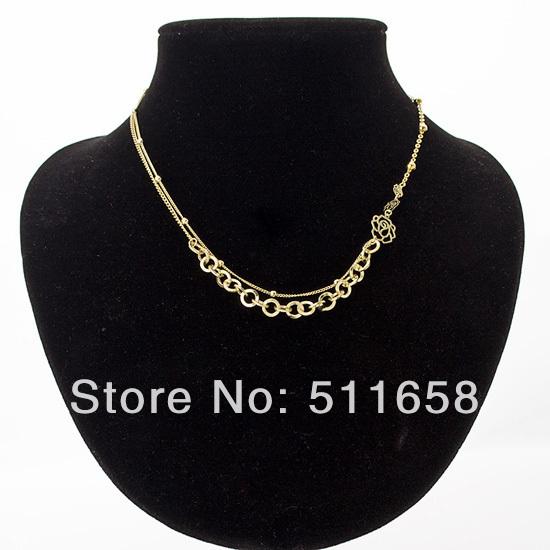 Ювелирные изделия в золотой цепь медь ожерелье