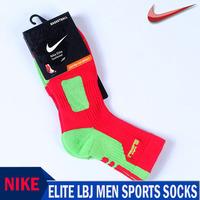 Free Shipping! NIKE-professional elite sports men socks Leisure men sock Brand Socks for men. (4 pieces = 2 pairs)