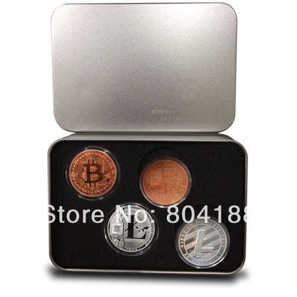 """plus récent"""" 2014"""" vente chaude de fer avec des pièces livraison gratuite tirelire monnaie de souvenir coffret bitcoin 1pcs/lot fournisseurs(China (Mainland))"""