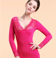 Free Shipping, 2pcs/lot, Body sculpting, lace, V-neck, seamless, beauty, body underwear, suits, spring models, modal, Ms.