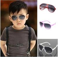 2014 Fashion Children Sunglasses Girls Boys Outdoor Goggles Child Large Sunglass UV400 Sun-shading Eye Wear Glasses 670914