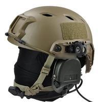 E1038 OPS ACH/FAST HELMET frame flashlight fixture Helmet Clamp Adaptor For Helmet accessories flashlight holders