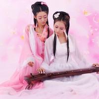 Costume clothes fairy hanfu tang suit guzheng female costume