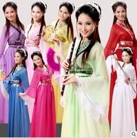 Costume hanfu clothes fairy clothes elegant costume exquisite chiffon skirt 8