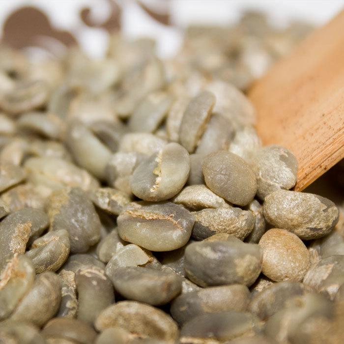 Green coffee beans small grain coffee AA beans China YUN NAN free shipping