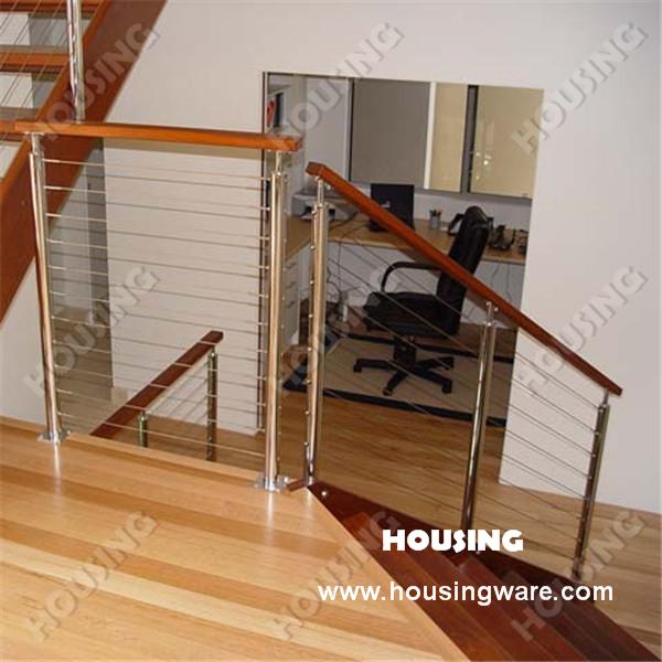 corrimão residencial decorativo aço inoxidável fio escada projetada para você(China (Mainland))