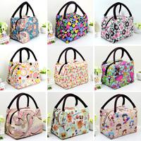 Free shipping Women canvas bag handbag small bag oxford fabric cosmetic bag shopping bag lunch bag nappy bag travel bags
