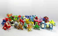 2014 Wholesale 50PCS/Set Pokemon Action Figures Cute PVC Cartoon Pokemon Collection Toys High Quality  Best Gift Free Shipping