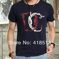Mr. sunny Popular men's clothing t-shirt fashion male cotton o-neck T-shirt  Free shipping 4 colors  M L XL XXL