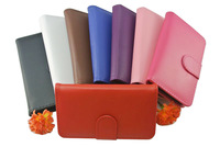 Colorful Leather Wallet Case Cover Folio Pouch for Samsung Galaxy S4 IV i9500