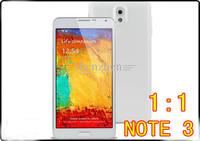 "1:1 MTK6582 Quad core NOTE 3 N9000  5.7"" screen Android 4.4 micro sim card 4GB ROM 3G eyes control air gesture phone russian"