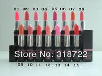 Free shipping New arrived brand makeup lip stick 300pcs Cosmetic WATER EMBELLISH CHARM LIPSTICK 8G 15 COLORS ( 300 PCS /LOT)