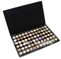Profession  72 Full Color Palette Earth Tone Metallic Eye Shadow Party Makeup Cosmetic ,Free Shipping