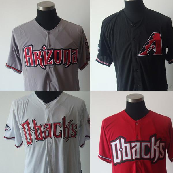 New 2014 Mens baseball jerseys MLB Arizona Diamondbacks Blank Or