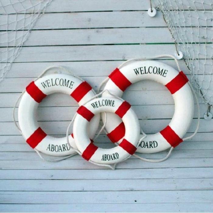 Как сделать спасательный круг мастер класс