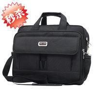 2014 men's handbag commercial  briefcase laptop bag one shoulder cross-body handbag  free shipping
