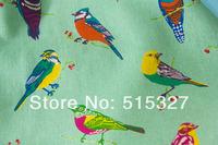 50cm*110cm Japanese KOKKA  Linen Fabric Textile For Sewing Echino By Etsuko furuya Birds