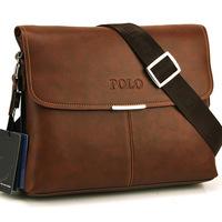 Polo 2014 New men messenger bag genuine leather bags for men business formal briefcase high quality morer #143