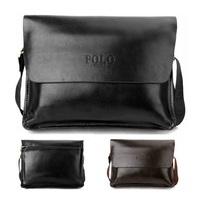 Latest Fashion Popular Designer Business&Leisure man's bag POLO Leather messenger bags Handbags Brand Shoulder Bag Briefcases