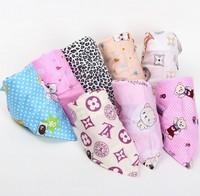 Child 100% cotton bib, baby bib,dependent packaging 0 - 6 years, scarf