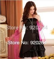 Hot Sale 2014 New Collection  Summer Elegant  Fashion Flower  Strapless Sling Short Girl Party Dress Prom Dresses Z-LS0012