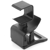 Free shipping by Singapore Post! Mini Adjustable Clip Mount Stand Holder Clamp Camera-Black