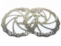 Free Shipping New Bike Disc rotors bicycle brakes disc brake rotor 160mm 2 pcs + 12 pcs Ti Tianium bolts