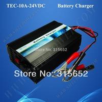 24 Volt AC/DC Solar Battery Charger 10A