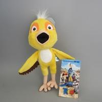 "10pcs/lot Free Shipping The Movie Rio Parrot Birds Nico Plush Toys Soft Stuffed Animal Dolls 9"" 22cm"