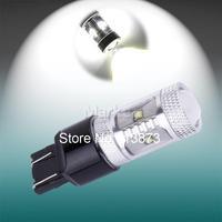 10pcs 7443 7440 W21/5W T20 30W Cree XBD LED Lamp car Fog Head Bulb auto Vehicles Turn Signal Tail Brake Lights car light source