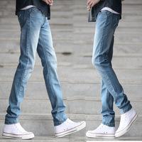 Spring Summer style Korean Slim / zipper fashion s casual cotton pants feet