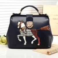 Women's handbag 2014 candy color bag messenger bag small fresh women's bag student bag
