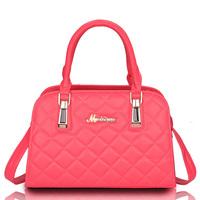 Classic plaid shaping quality women's handbag one shoulder cross-body handbag female PU bags