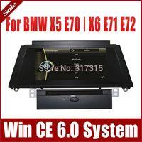 "8"" Add-on OEM Fit Car DVD Player for BMW X5 E70 X6 E71 E72 with GPS Navigation Radio Bluetooth TV SD USB AUX Map Audio Sat Nav"